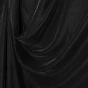 Premium Black Plain Dyed Soft Micro Velvet 60″ Wide, 10m or 20m