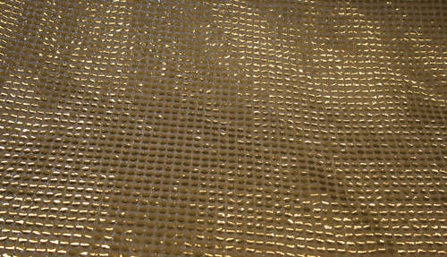 9-Gold Sequence Fabric 10m