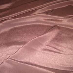 """Brown Polyester Crepe Fabric 58"""" wide, 5m"""