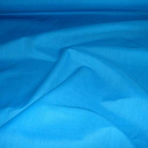 "Dark Aqua Poly Cotton Fabric 44"" wide, 10m"